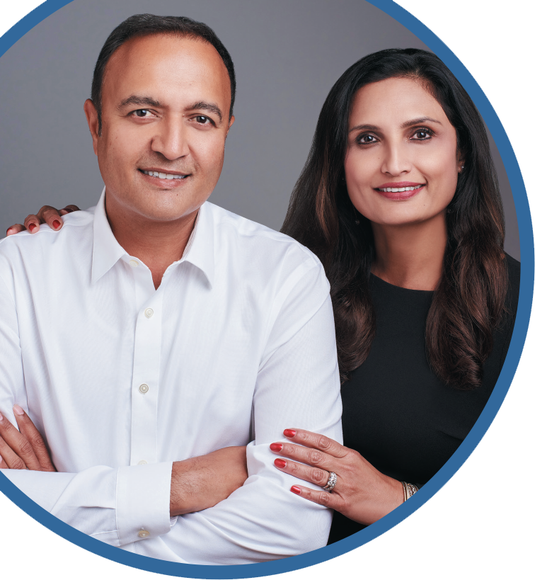 vinay patel and his wife